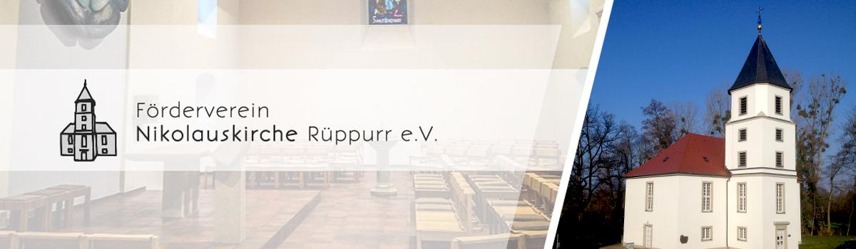Förderverein Nikolauskirche Rüppurr e.V. Header